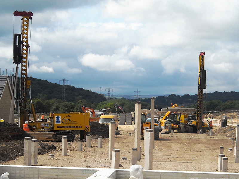 Precast Concrete Piling Tpl Mini Piling Specialists Uk