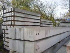 Precast concrete ground beams