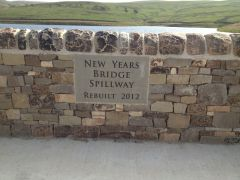 Saddleworth dam renovation